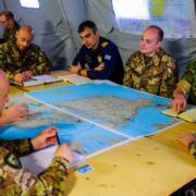 Esercitazione comando e controllo (foto Esercito Italiano)