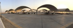 task force italiana Kuwait (foto Aeronautica Militare)