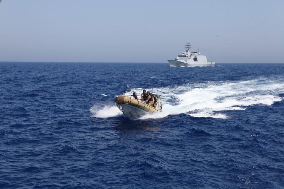 Esercitazione Adrion (foto Marina Militare)