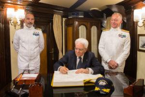 Nave Vespucci campagna d'istruzione 2017 (foto Marina Militare)