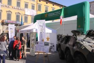 Esercito a Lucca Comics