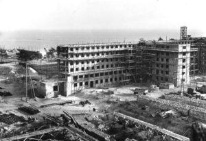 Il complesso di Prora in costruzione (foto Bundesarchiv)