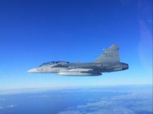 Air policing in Estonia per gli eurofighter dell'aeronautica militare (foto Aeronautica Militare)