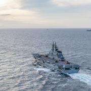 Esercitazione squadra navale (Marina Militare)