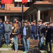 Baiso Reggio Emilia - Consegna Piastrino disperso in Russia Lino Incerti ai familiari - alpini, armir, csir, seconda guerra mondiale