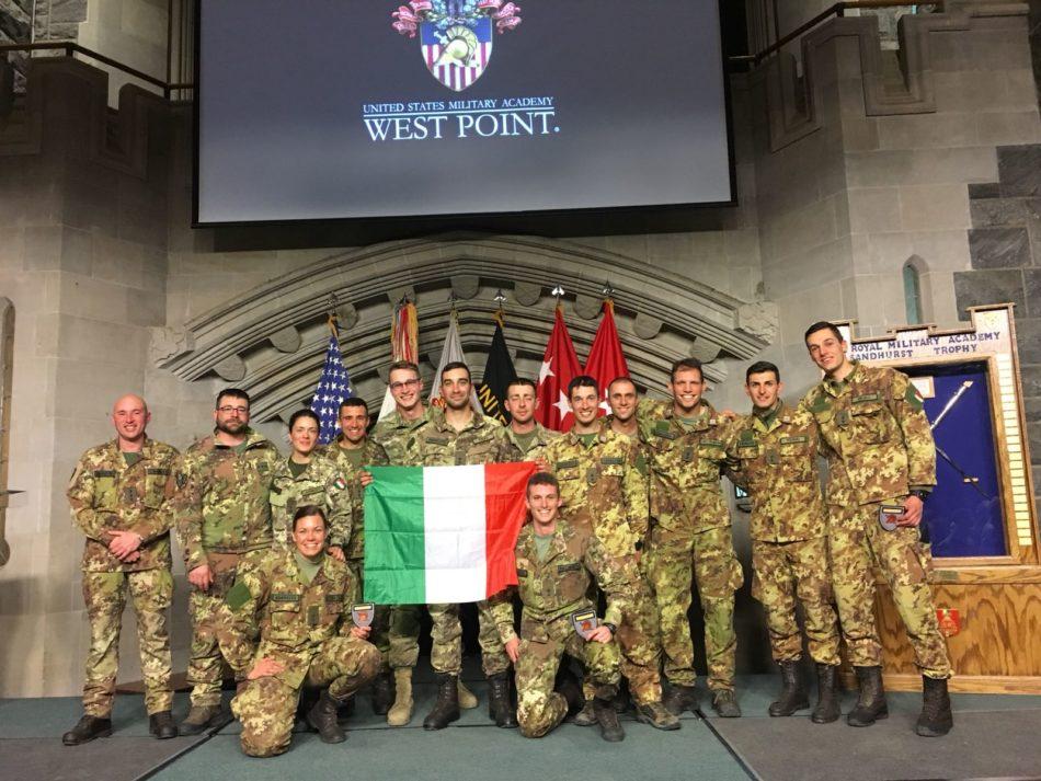 militari italiani a west point (foto Esercito Italiano)