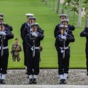 CIMITERO MILITARE AMERICANO DEI FALCIANI MEMORIAL DAY