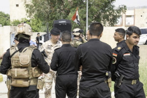 Pattuglie italiane e irachene mosul