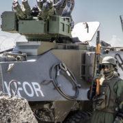 """KFOR: esercitazione """"Western Blizzard"""" (foto esercito italiano)"""