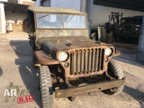 Sandro Bertini, il restauratore delle jeep Willys e di mezzi militari