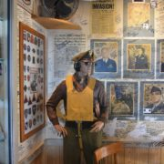 D-day, Utah Beach, la spiaggia, il museo, il locale con le memorabilia