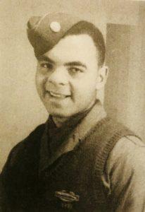 Ivan J. Houston ai tempi della guerra (foto dal libro Black Warriors)