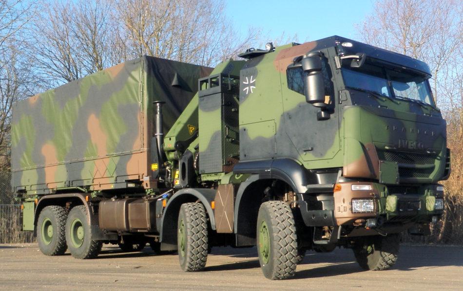 Iveco defense 8x8 trekker (foto Iveco Defense)