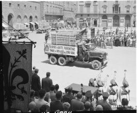 Le opere d'arte italiane restituite dall'Us Army (ph National Archives)