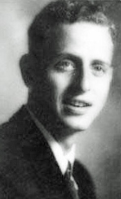 Machinist's Mate 1st Class Eugene K. Eberhardt., 29, of Newark, New Jersey, killed during World War II