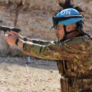 I bersaglieri della Garibaldi si addestrano in Libano (foto stato maggiore Difesa)