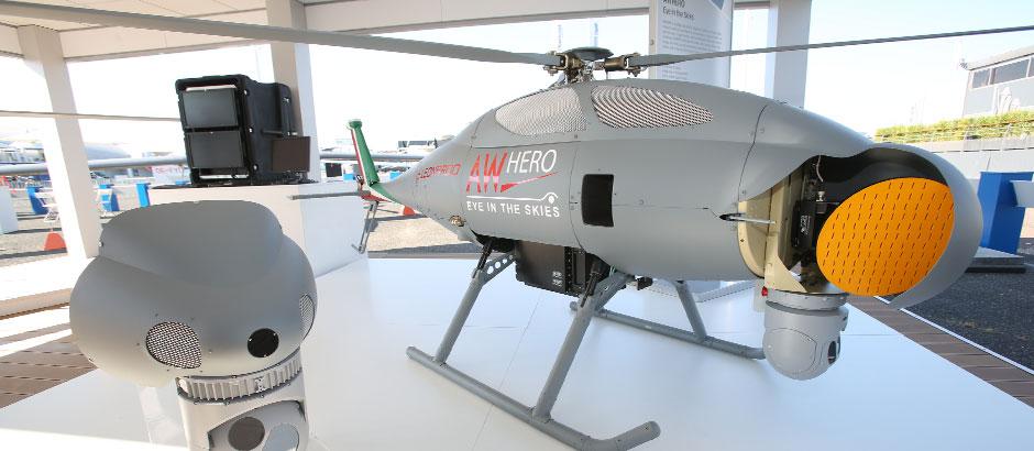 Elicottero senza pilota Awhero Leonardo