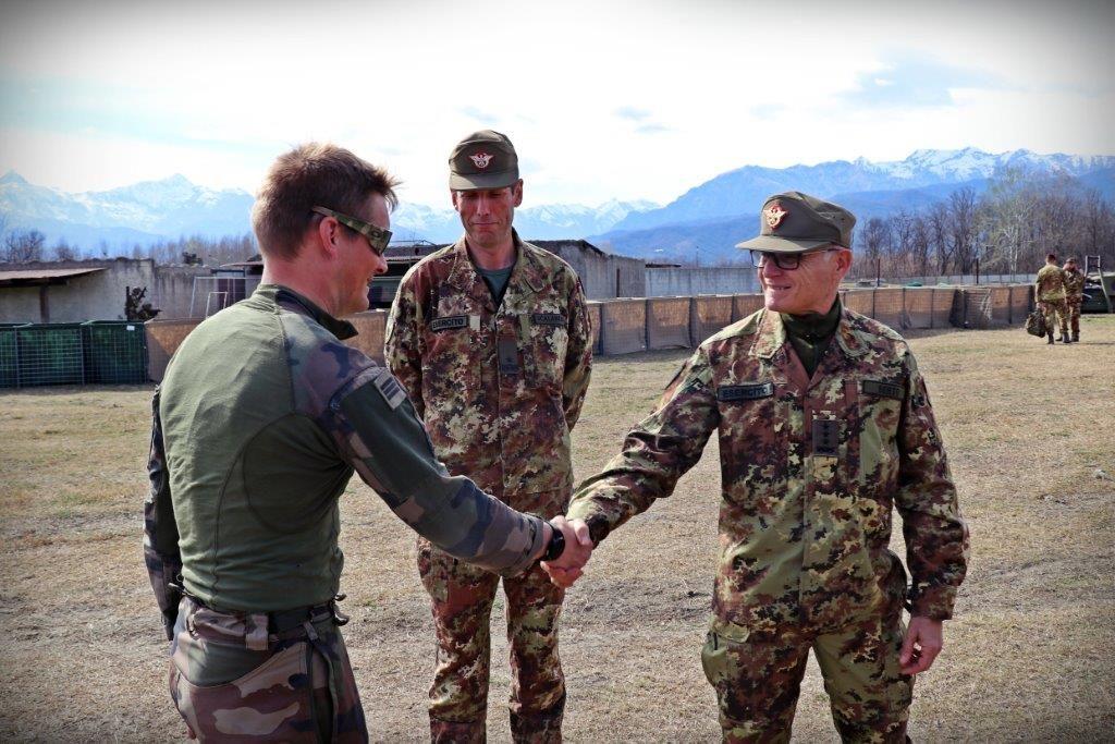 Esercitazioni Snow Leopard e Arctic Fox (foto Esercito Italiano)