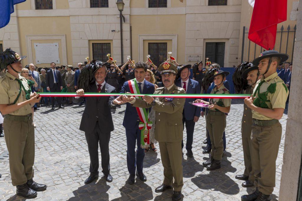 Museo dei Bersaglieri a Porta Pia (foto Esercito Italiano)