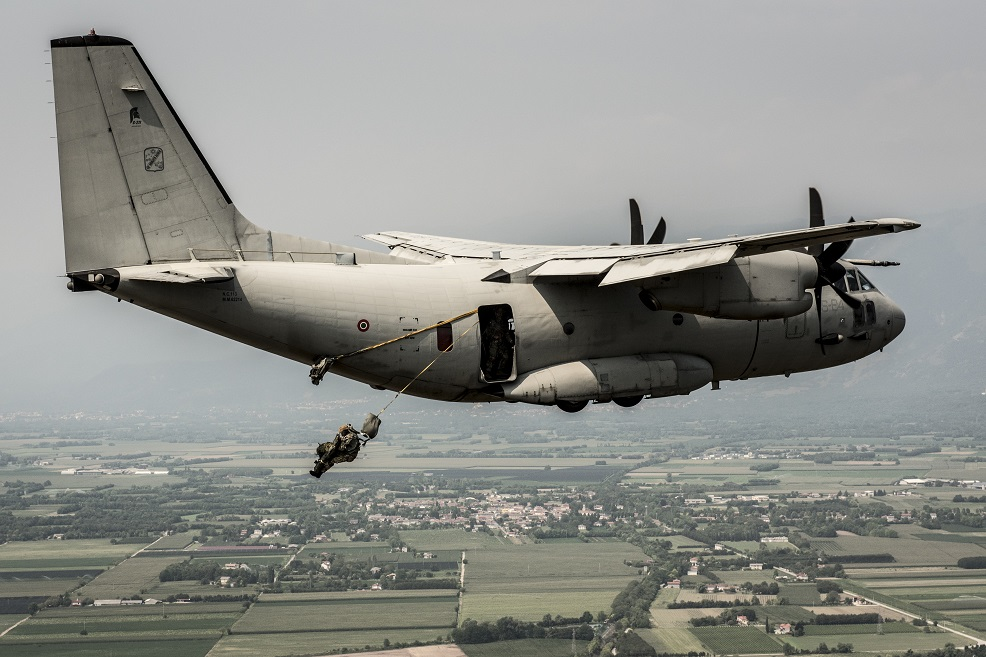 Test di lancio sui nuovi aeromobili (foto Aeronautica militare)