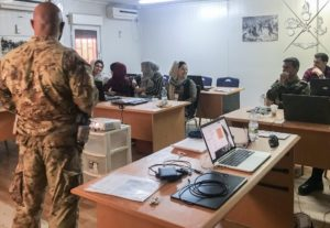 l'esercito addestra le forze di sicurezza afgane (foto Esercito Italiano)