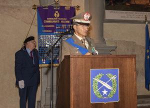 IL generale Giuliani ex comandante direzione di amministrazione dell'esercito