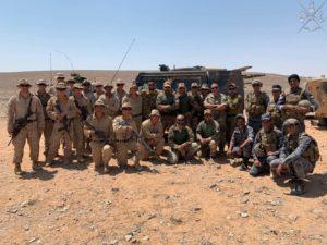 Esercitazione Eager Lion 2019 (foto Stato Maggiore della Difesa)