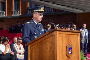 Cambio in comando alla scuola Douhet (foto Aeronautica Militare)