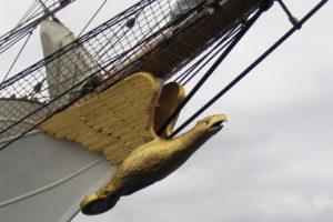 Eagle la nave scuola della guardia costiera Usa, che era la Horst Wessel della kriegsmarine