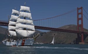 La eagle in navigazione (foto Us Coast Guard)