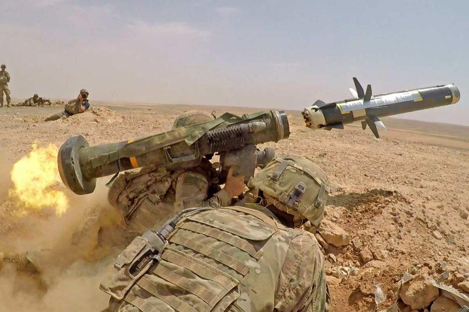 Esercito Usa, Javelin missile controcarro (foto Us Army)