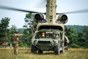 Il nuovo veicolo leggero trasporto truppe Us Army (foto Us Army)