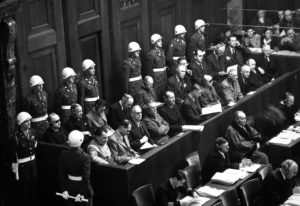 Processo di Norimberga. (National archives)