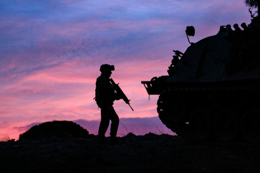 Esercitazione Toro per la brigata Pinerolo (foto Esercito Italiano)