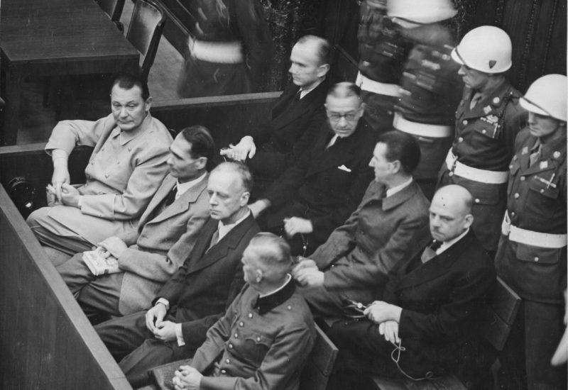 Il processo di Norimberga (National Archives)