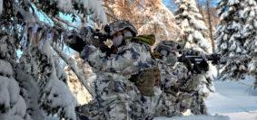 Esercitazione Abbey Road alpini (foto Esercito Italiano)