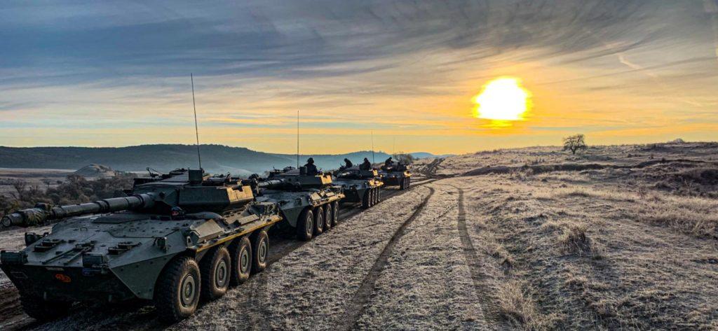 Nizza cavalleria, scorpion legacy 2019 (foto Esercito Italiano)
