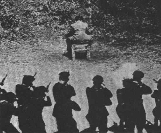 la fucilazione di Pietro Koch