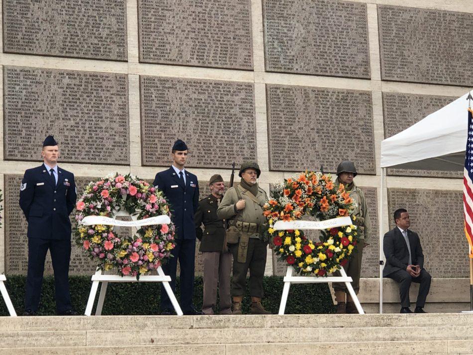 Veterans Day al cimitero dei Falciani