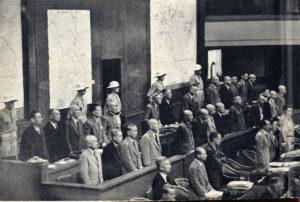 Tokyo, processo ai criminali di guerra giapponesi