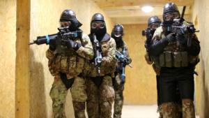 Urban Reaper Bersaglieri in Estonia (foto Esercito Italiano)