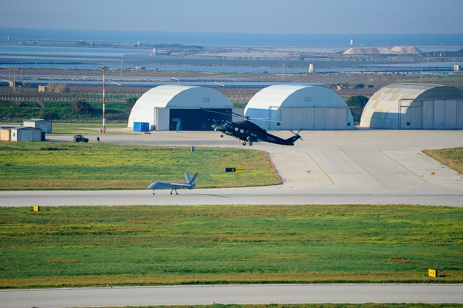 Falco Xplorer Leonardo, Aeronautica Militare (foto Aeronautica Militare)