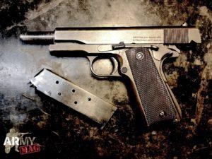 Colt M1911, le armi della seconda guerra mondiale