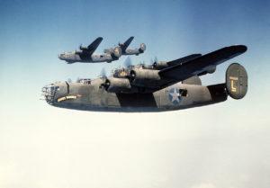 Il B-24_Liberator (foto Usaaf)