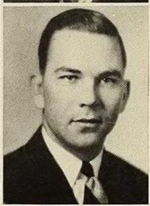 Il tenente Earl F. Ferguson pilota Usaaf seconda guerra mondiale