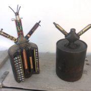 La S-mine o Schrapnellmine , le armi della seconda guerra mondiale
