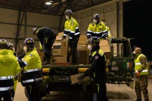 Samaritan's Purse dona un ospedale da campo Aeronautica militare