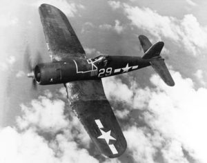 Vought F4-U Corsair in volo