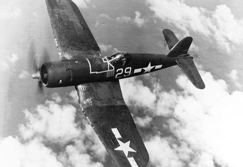 Vought F4-U Corsair in volo