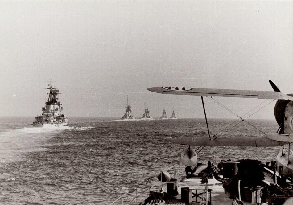 I ricognitori della Regia Marina sulle catapulte